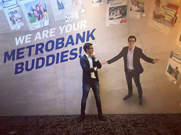 Metrobank Ad and Event