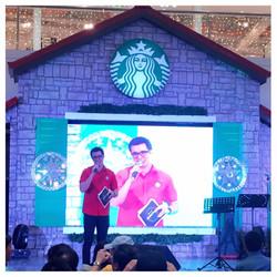 Starbucks Christmas Grand Launch2015