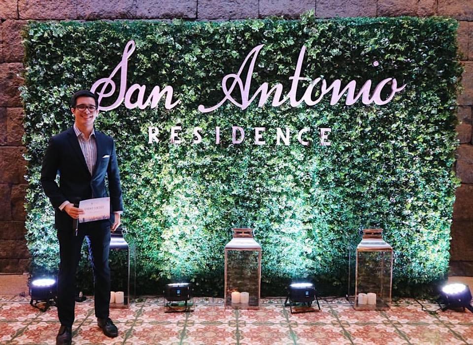 Justin Quirino hosting for Megaworld