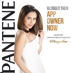 Anna Cay for PANTENE AD
