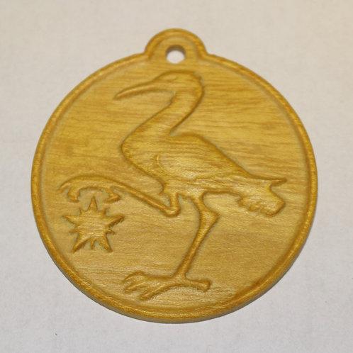 Sable Crane, Osage Orange (Bois d'Arc)