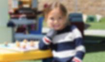 Girl Enjoying Playground Time at Patti's Preschool