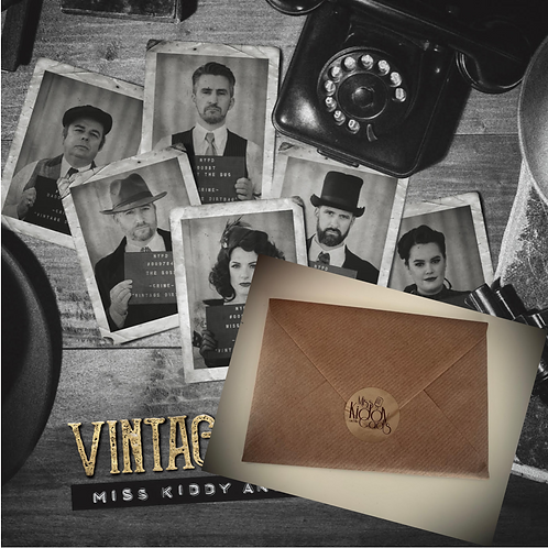 Vintage Dirtbag Album & 6 Postcard set