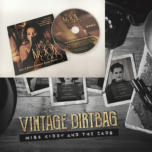 CD Combo - Vintage Dirtbag and Live at Pizza Express