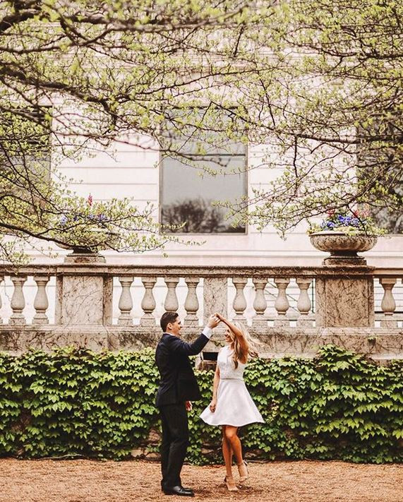 Engagement photos taken by Andraya Croft Photography.