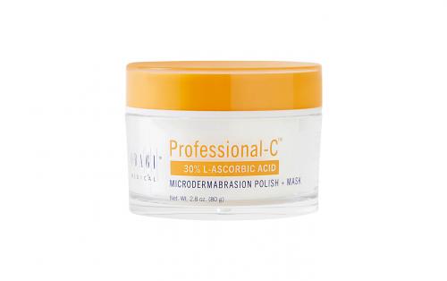 Professional-C 30% L-Ascorbic Acid Microdermabrasion Polish + Mask