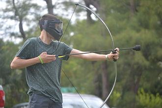 Archery Tag School Alumni Event