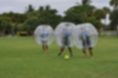 Miami Bubble Soccer event