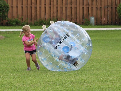 Bubble Soccer Fitness for Kids