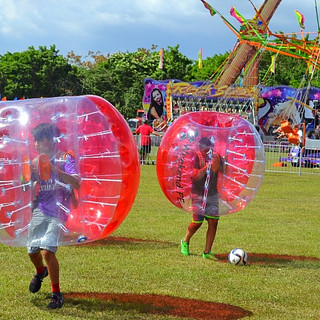 Bubble Balls and Sports Birthdays