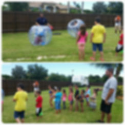 Bubble Ball Party!