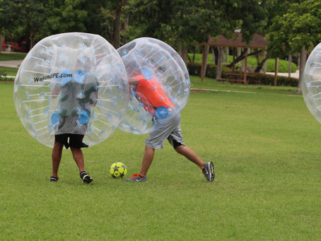 Yes, Bubble Soccer is Real