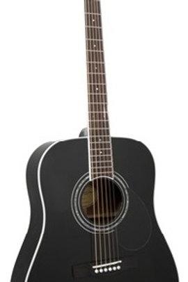 86S5BLK | Adam Black Acoustic Guitar | S5 - Black