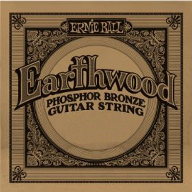 EB-PB | Guitar Strings | Single Strings Phosphor Bronze | Ernie Ball Earthwood