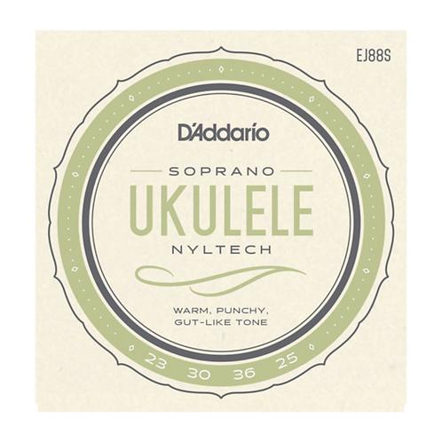EJ88S | D'addario Nyltech Ukulele Strings | Soprano
