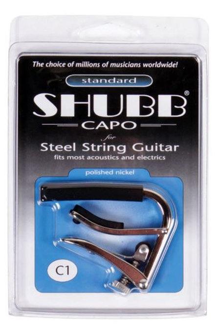 C1 | Guitar Capo | Electric & Acoustic | Shubb