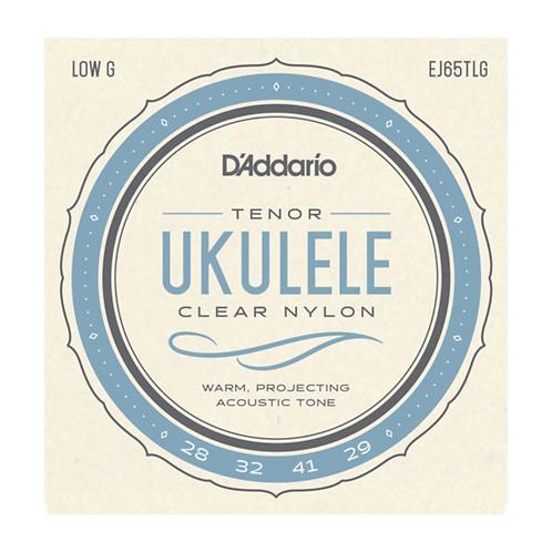 EJ65TLG | D'Addario Tenor Ukulele | Low G