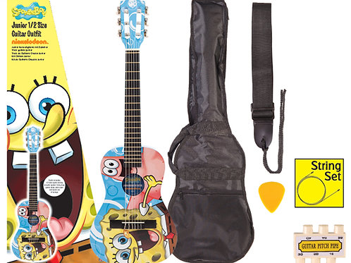 SpongeBob SquarePants Junior Guitar Outfit SBG01