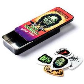 KH01T088 | Plectrum and Tin | Original Kirk Hammett Pick Tin | Dunlop
