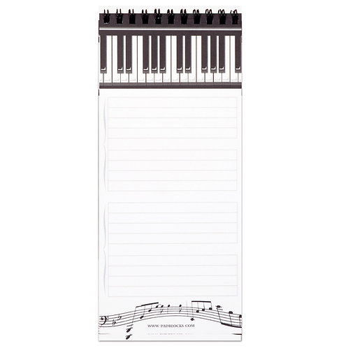 244057X | Stationery | Piano Keys Magnetic Shopping List