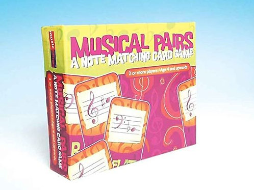 169080G | Game | Musical Pairs - A Note Matching Card Game