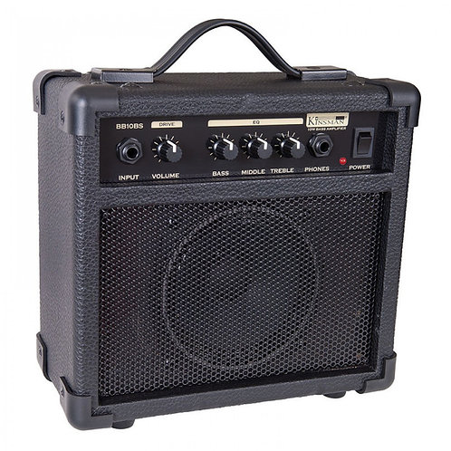 BB10BS | 10W Practice Bass Guitar Amplifier | Kinsman