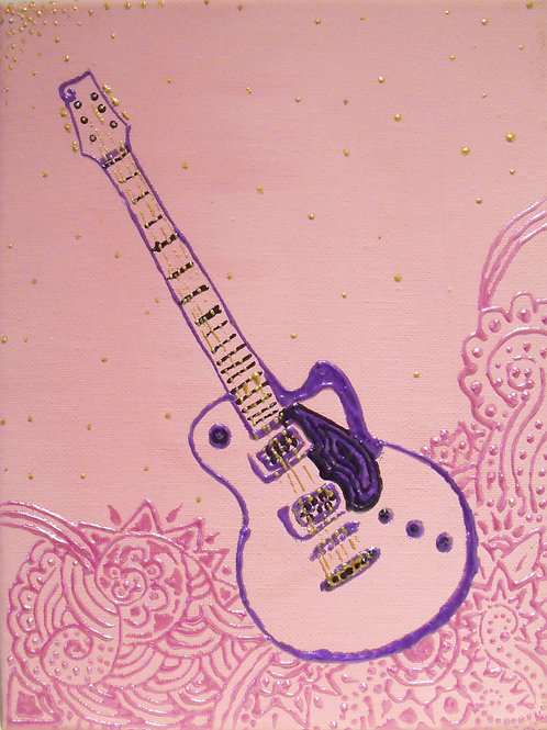 Painting - Electric Guitar - 20017.4