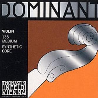 135   DOMINANT VIOLIN SET (130,131,132,133) 4/4