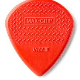 471 | Plectrum | Original Max-Grip Jazz III | Dunlop