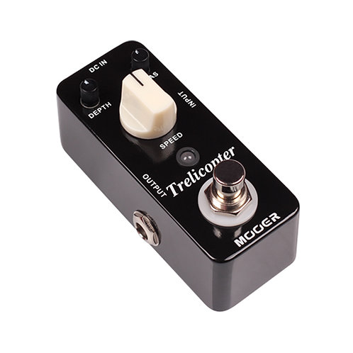 MTR1 | MOOER TRELICOPTER MICRO GUITAR EFFECT PEDAL