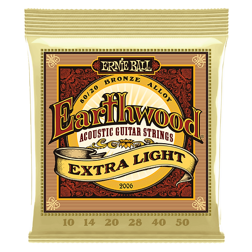 EARTHWOOD  BRONZE ACOUSTIC GUITAR STRINGS 13-56
