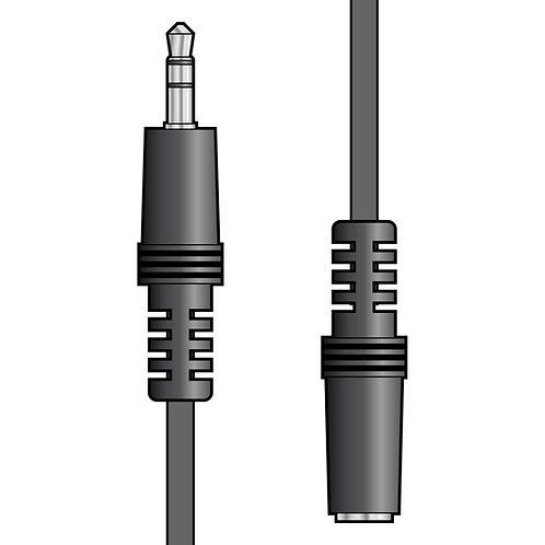 112.042 | 3.5mm stereo plug to 3.5mm stereo socket lead 3.0m