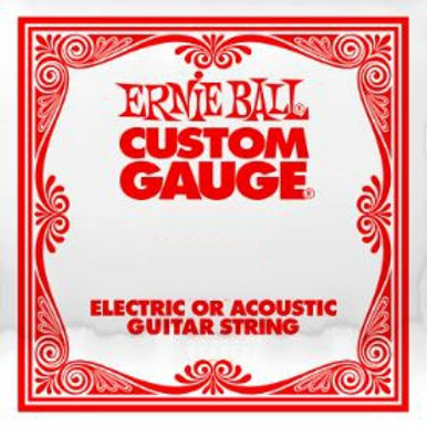 EB-PS | Guitar Strings | Single Strings Plain Steel | Ernie Ball