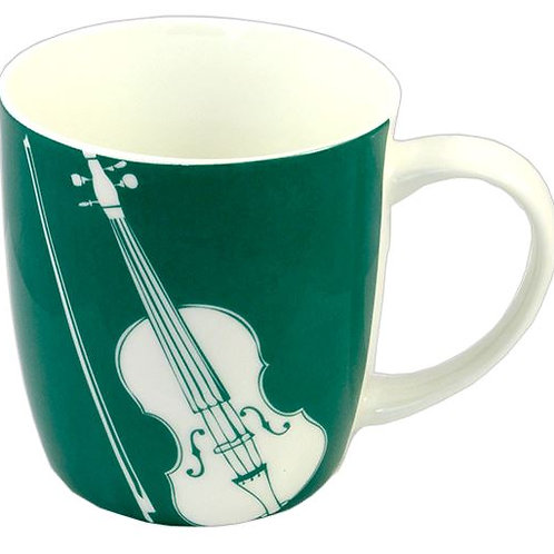 263325Q | Chinaware | Musical themed Bone China | Violin