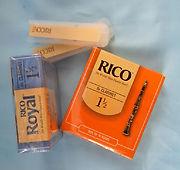 rico reeds, rico royal reeds, clarinet r
