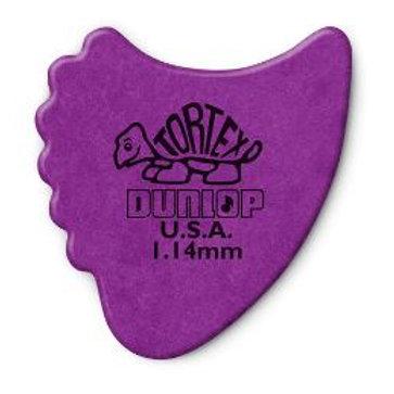 414   Plectrum   Original Tortex Fin Pick   Dunlop
