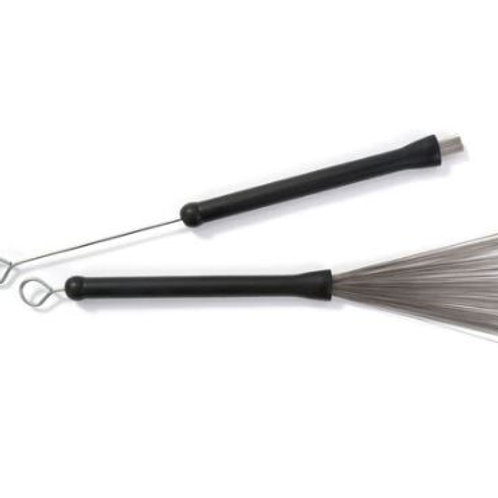 Dixon | Drum Sticks | Hot Rods Wire Brushes Retractable | Set of 2