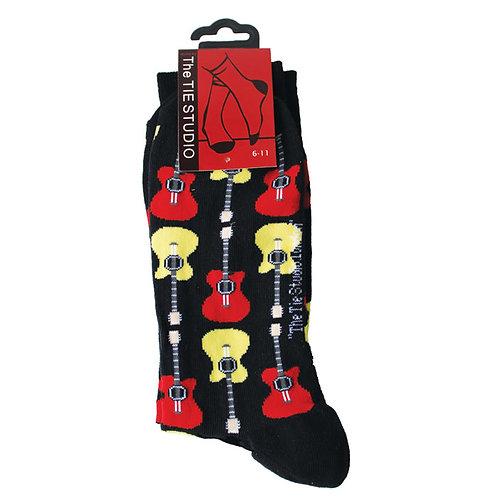 230226L | Socks | Tie Studio Acoustic Guitar Black