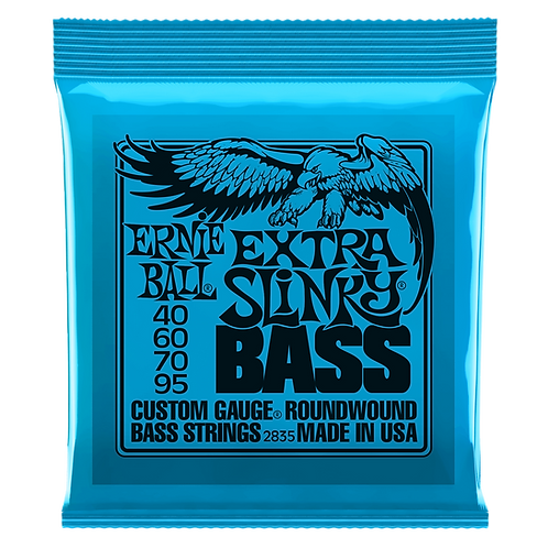 ERNIE BALL SLINKY NICKEL WOUND ELECTRIC BASS STRINGS