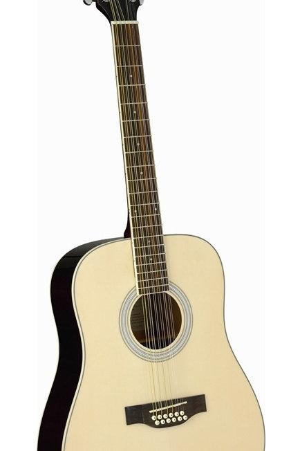 EKO Laredo 12 FL 12-string Acoustic Guitar - Natural Gloss