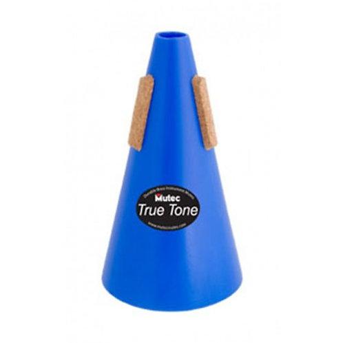 21MHT113 | Mutec MHT113 Trumpet Straight Truetone Mute - Blue Polymer