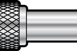 Adaptor RCA Phono Socket – 6.3mm Mono Jack Plug