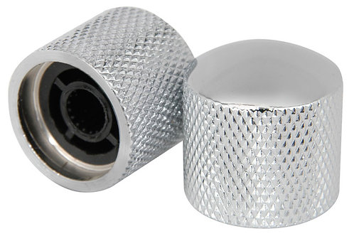 knurled Control Knobs - Pair