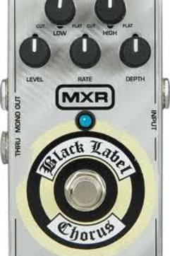 MXR-ZW38 | Effect Pedal | Black Label Chorus | Zakk Wylde Signature Pedal