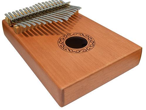 173.002 | Kalimba | 17 Key Mahogany with Accessories