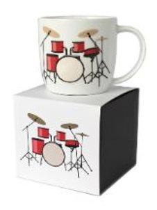 303637T | Mug | Rock Club Boxed Mug Drum Kit White