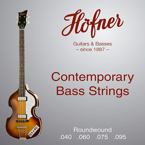 HCT1133RB | HOFNER CONTEMPORARY BASS ROUNDWOUND