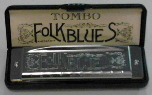 Tombo Folk Blues 10-Hole Major Diatonic Harmonica Key of F