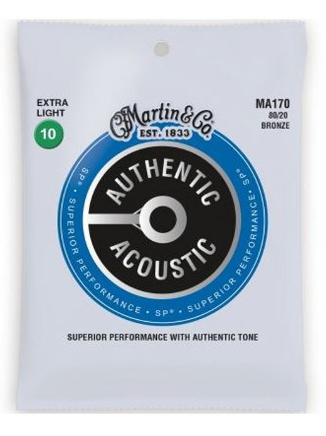 MA1 | Acoustic Guitar Strings | 80/20 Bronze | Martin