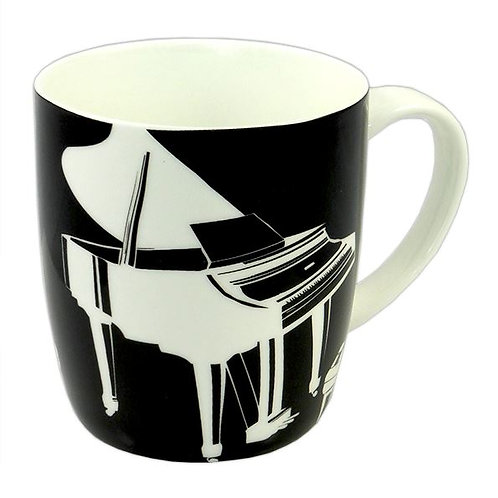 263322X | Chinaware | Mug | Musical themed Bone China | Piano